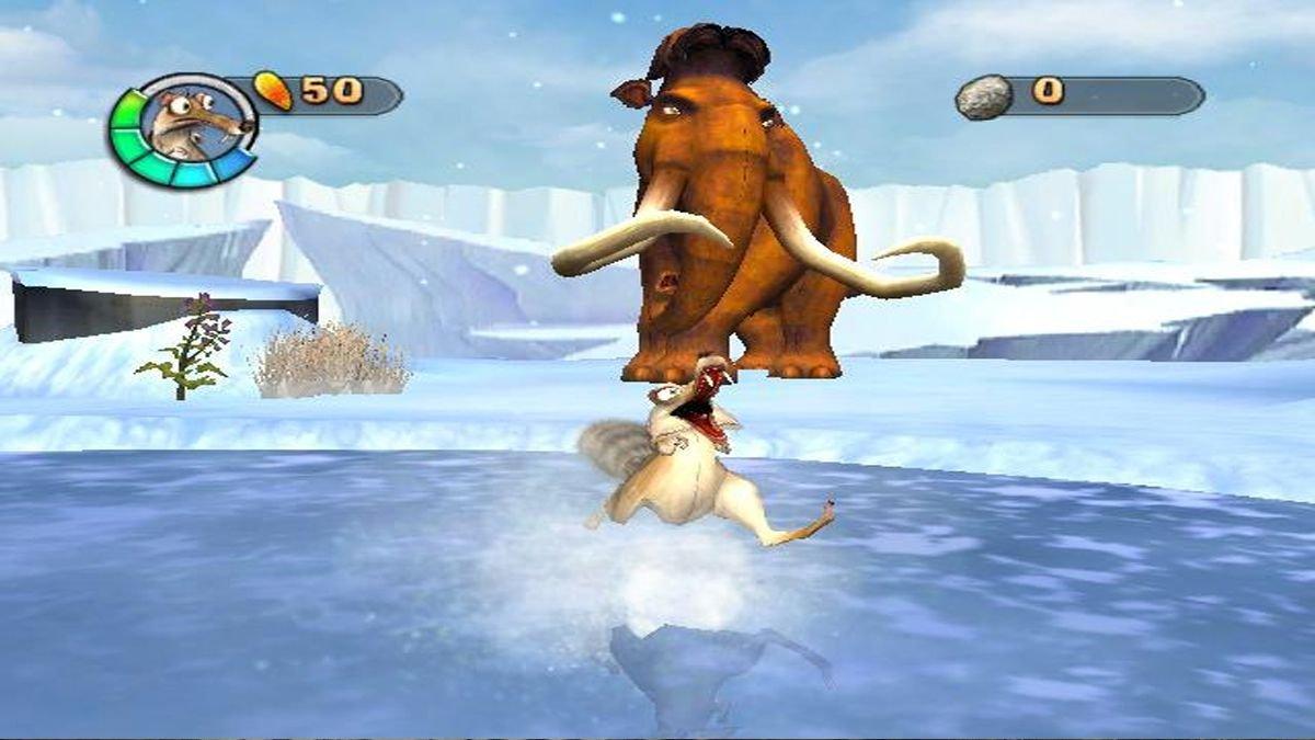 Ice Age 2: The Meltdown - Versão PAL - Nintendo Wii - Usado