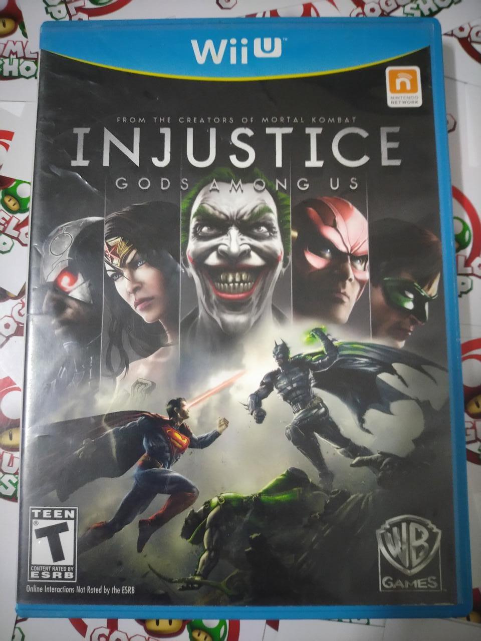 Injustice Gods Among Us - USADO - Nintendo Wii U