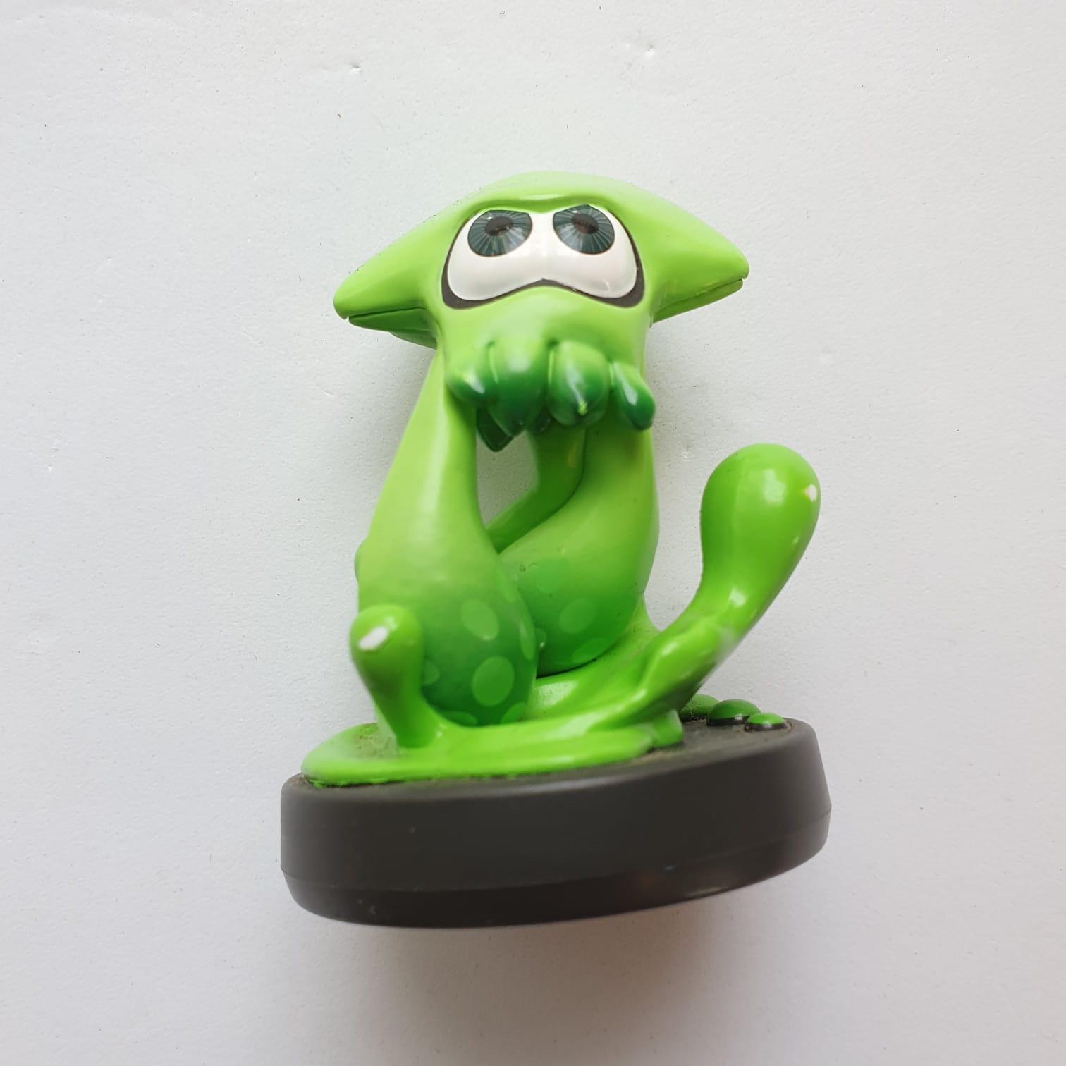 Inkling Squid (Verde) - Amiibo - Usado