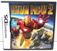 Iron Man 2 (USADO) - Nintendo DS