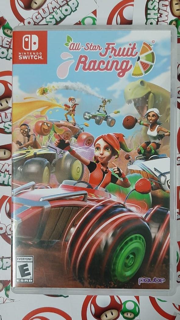 Jogo All-Star Fruit Racing - Nintendo Switch - USADO - Frete Grátis
