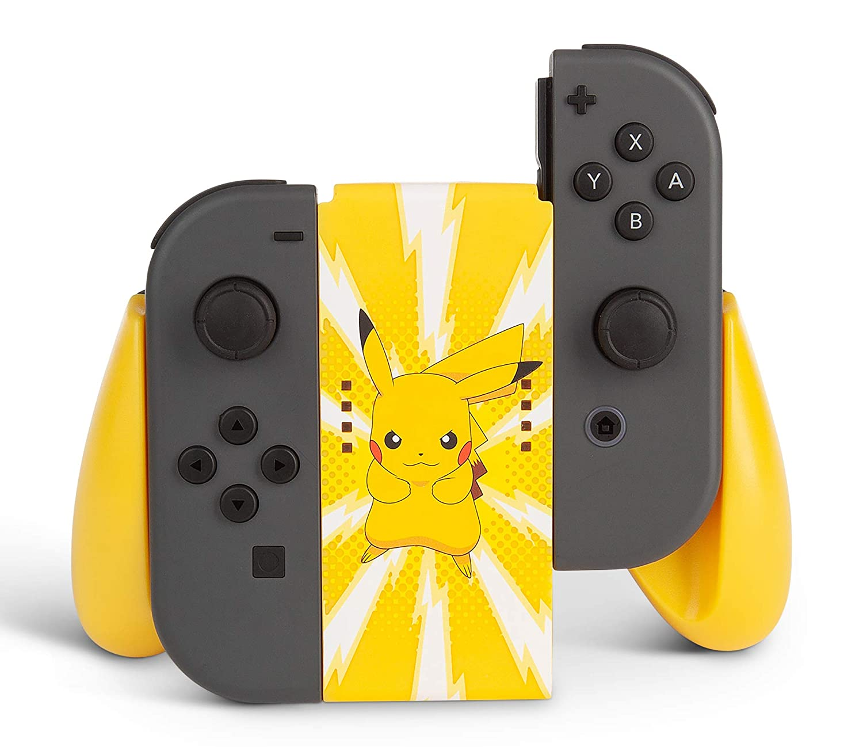 Joy-Con Comfort Grip PowerA  - Pikachu - Nintendo Switch