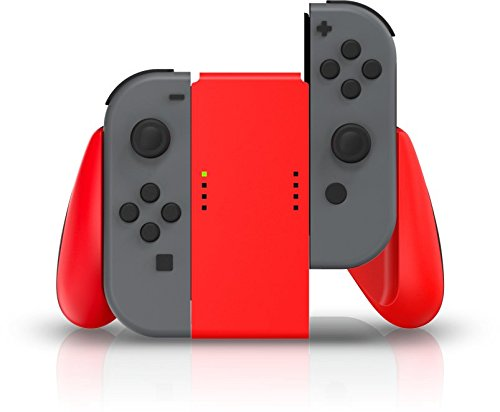 Joy Con Comfort Grip PowerA - Vermelho - Nintendo Switch