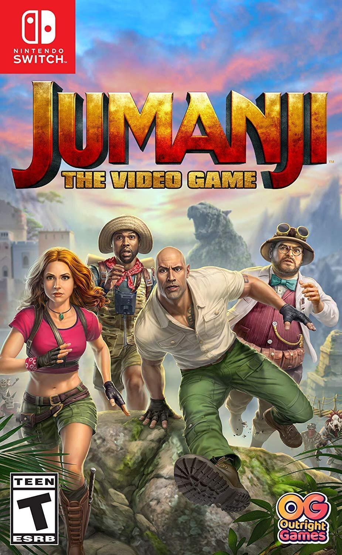 Jumanji The Video Game - USADO - Nintendo Switch