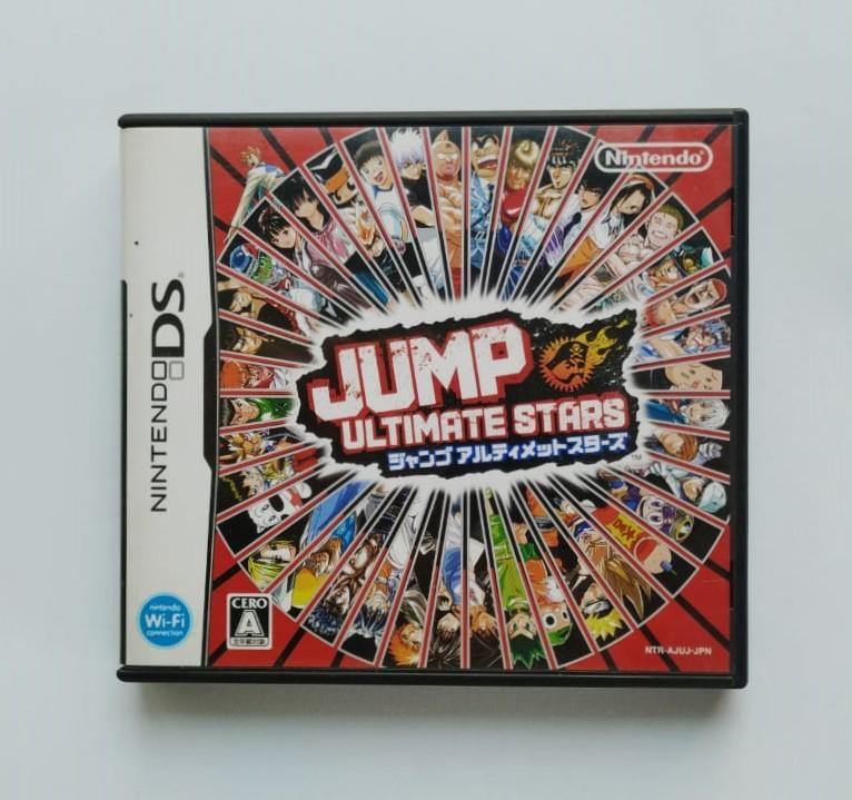 Jump Ultimate Stars - JP - Nintendo DS - Usado