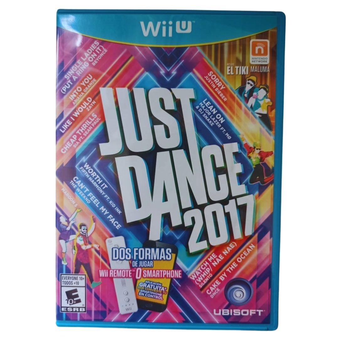 Just Dance 2017 - Nintendo Wii U - Usado
