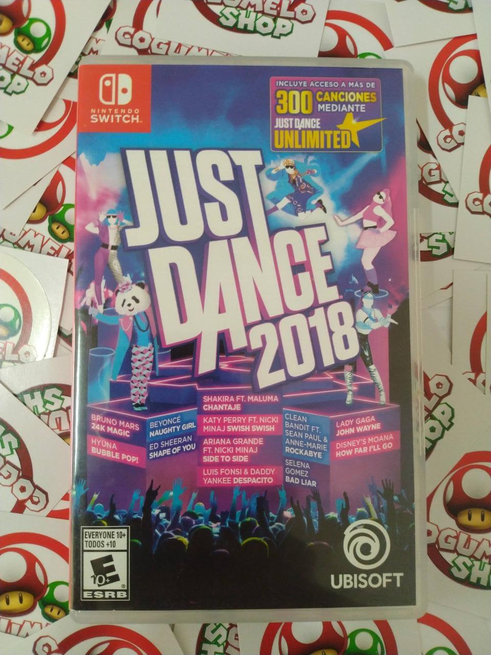 Just Dance 2018 - USADO - Nintendo Switch