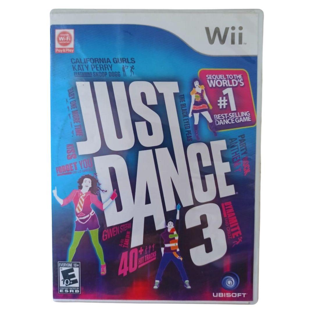 Just Dance 3 - Nintendo Wii - Usado