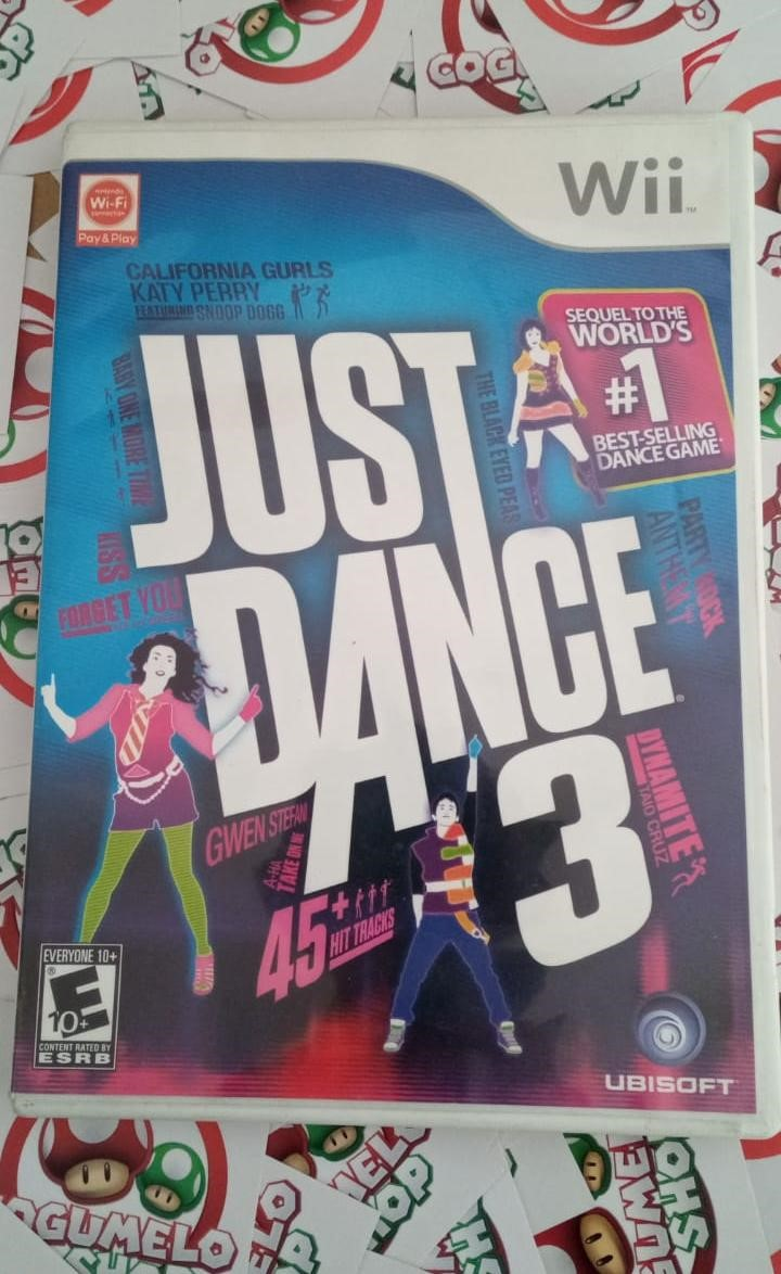Just Dance 3 - USADO - Nintendo Wii