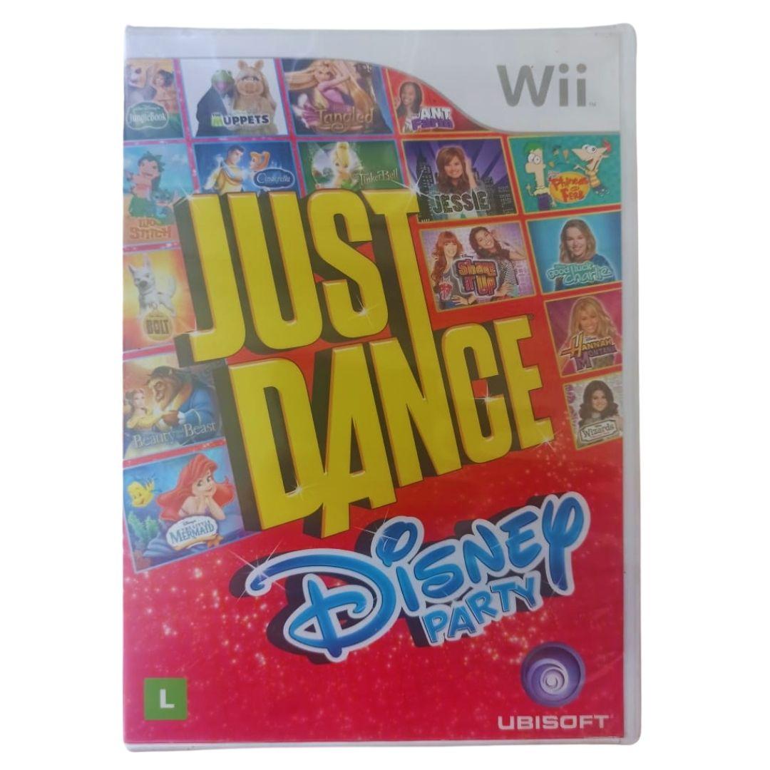 Just Dance: Disney Party - Nintendo Wii - Usado