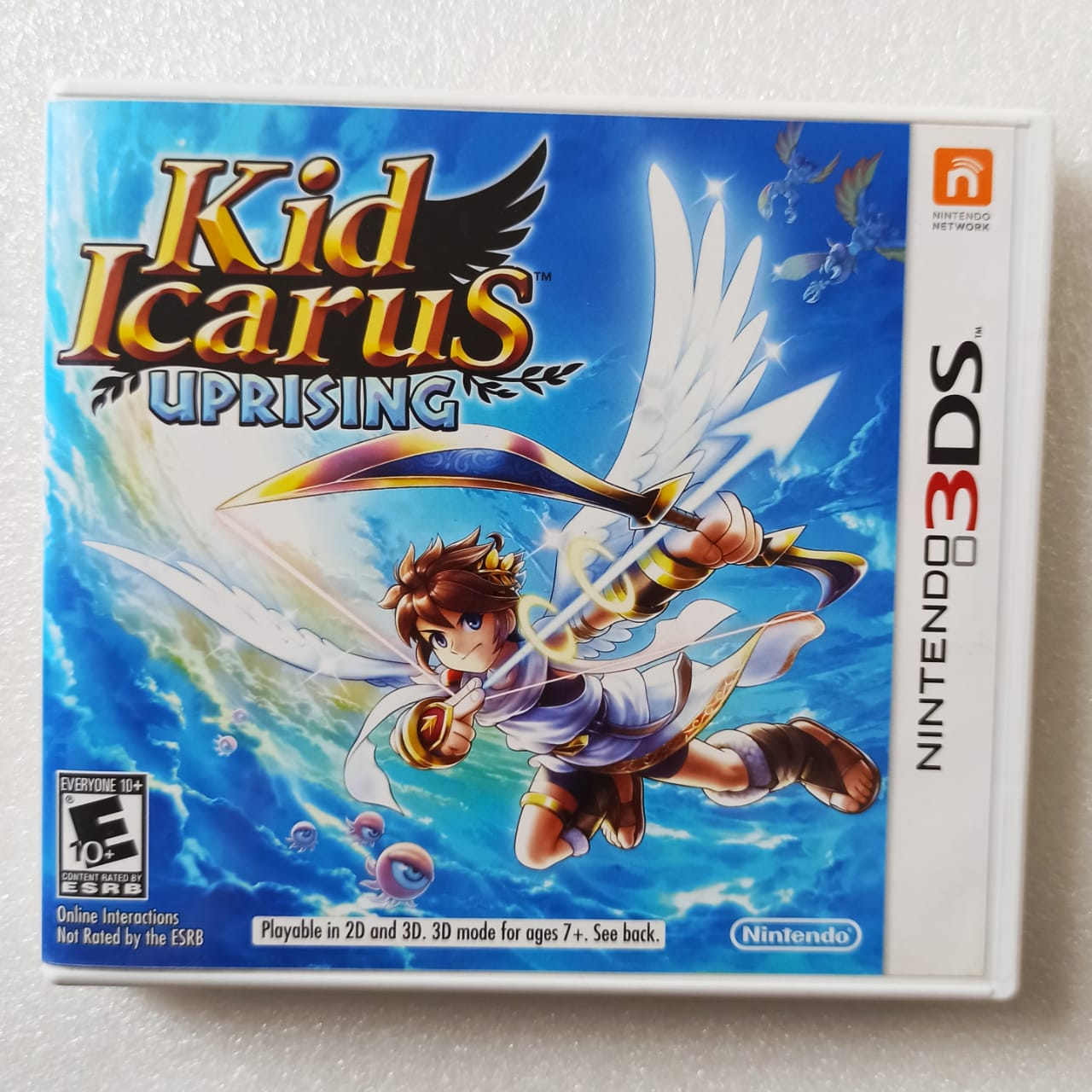 Kid Icarus: Uprising - USADO - Nintendo 3DS