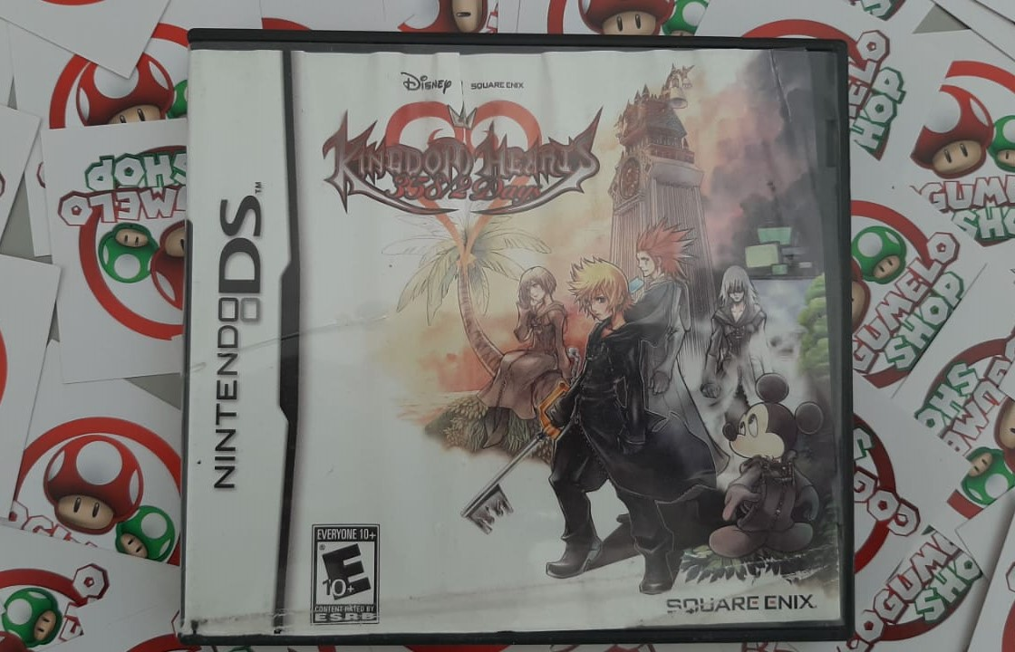 Kingdom Hearts 358/2 Days - USADO - Nintendo DS