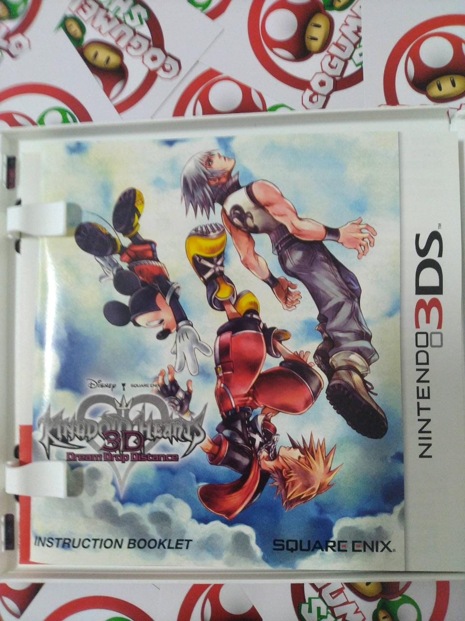 Kingdom Hearts 3D Dream Drop Distance - USADO - Nintendo 3DS