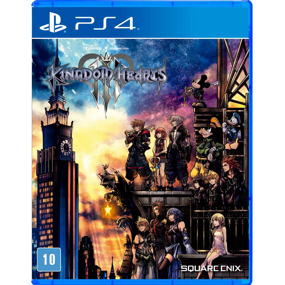 Kingdom Hearts III - PS4