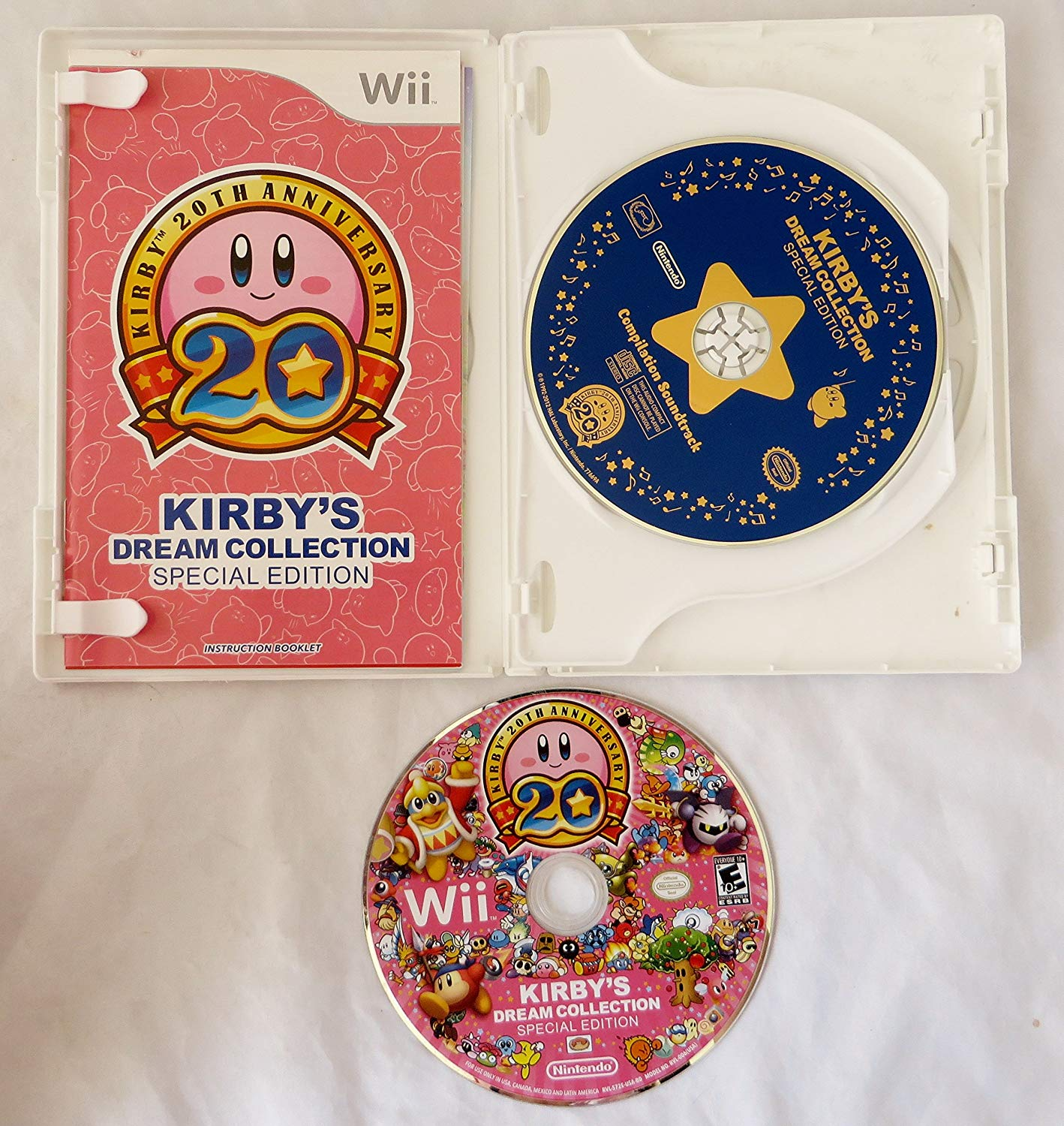 Kirby Dream Collection - Special Edition - Wii - Usado
