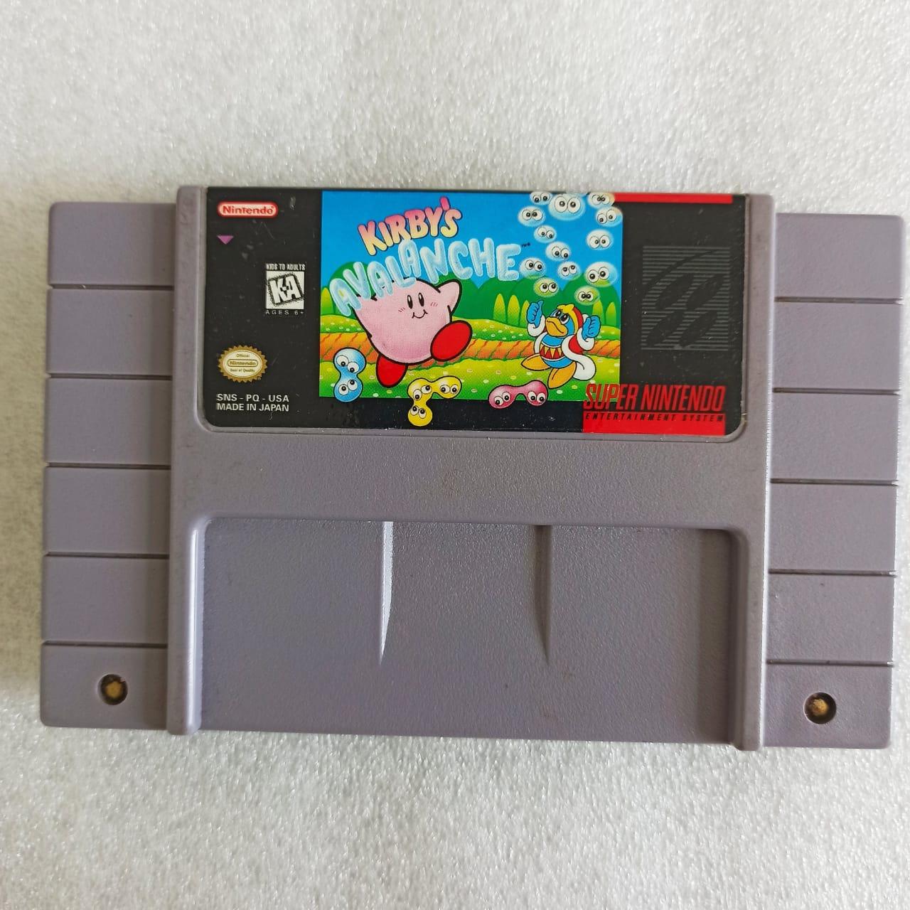 Kirby's Avalanche - USADO - SNES