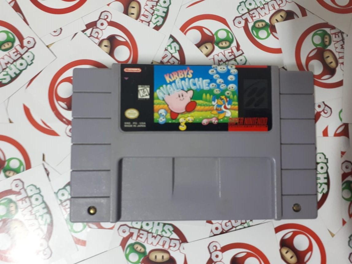 Kirby's Avalanche - USADO - Super Nintendo