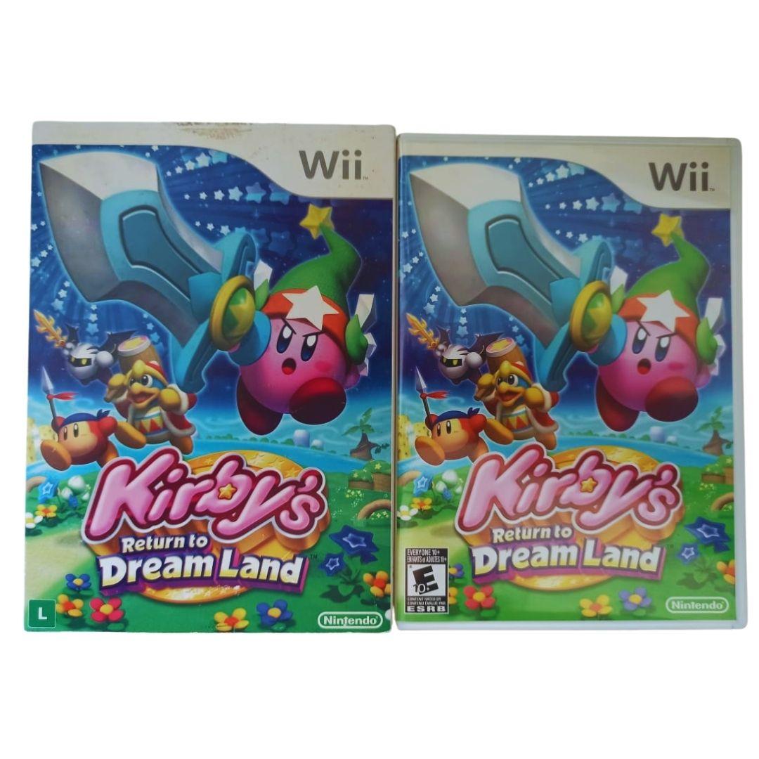 Kirby's: Return to Dream Land - Nintendo Wii - Usado