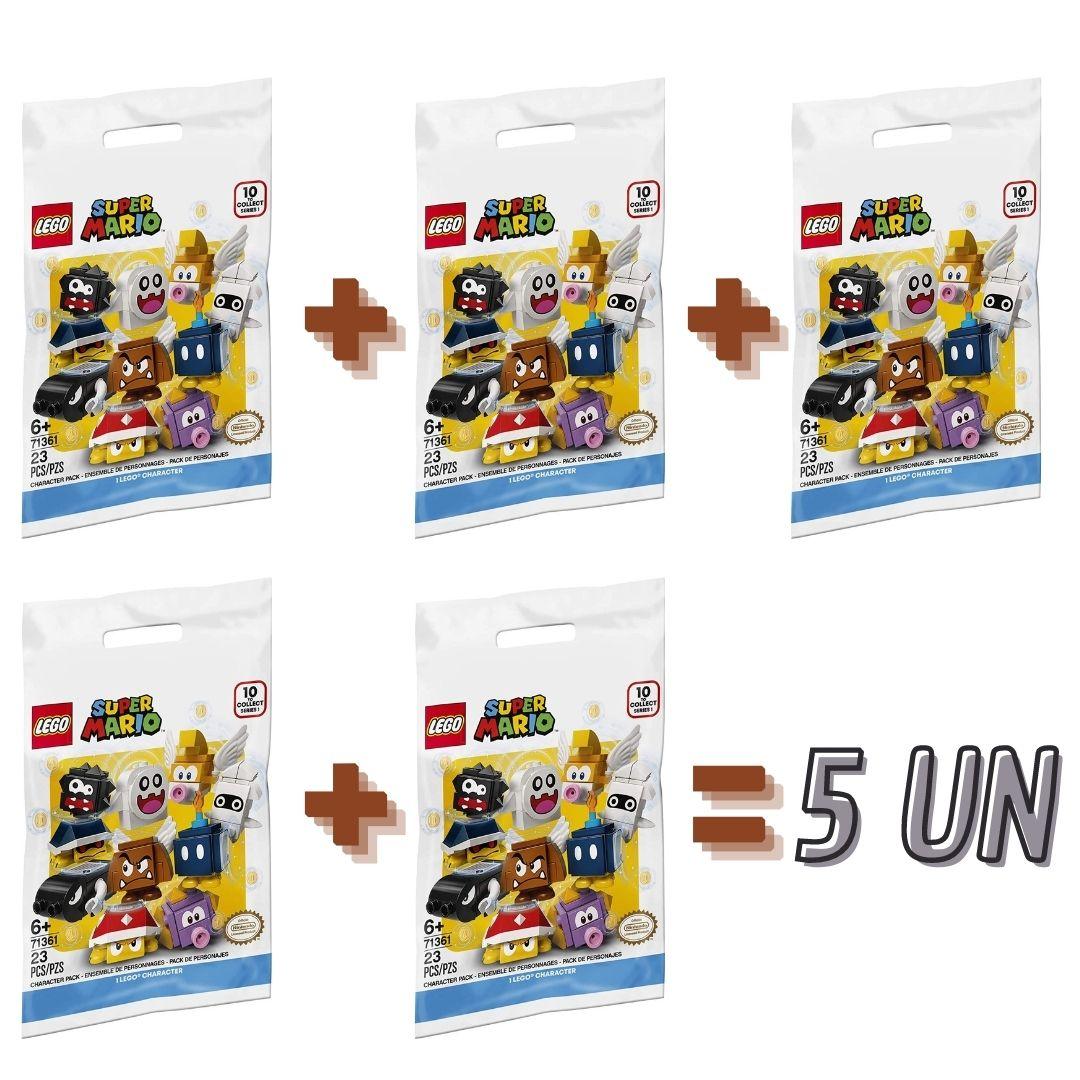 Kit com 5 LEGO 71361 - Pacote de Personagens