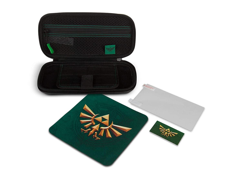 Kit de Proteção PowerA - Case + Película - Hyrule Field - Nintendo Switch Lite