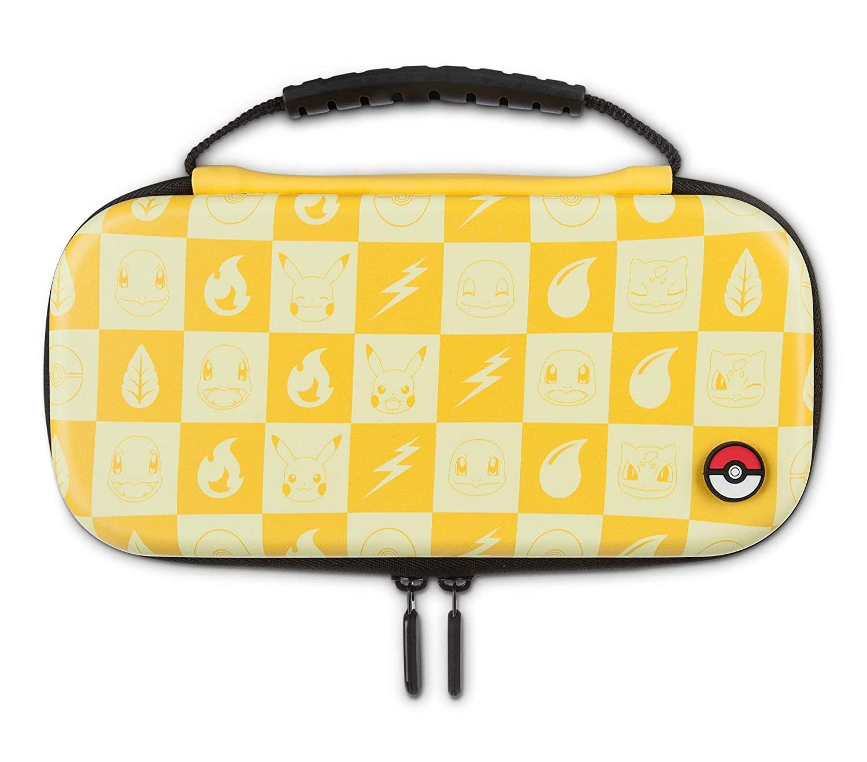 Kit de Proteção PowerA - Case + Película - Pokémon Checkerboard - Nintendo Switch Lite