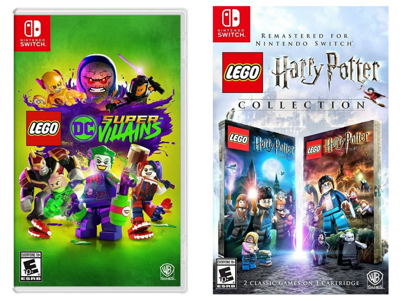 Kit LEGO Harry Potter Collection + LEGO DC Super Villains - Nintendo Switch