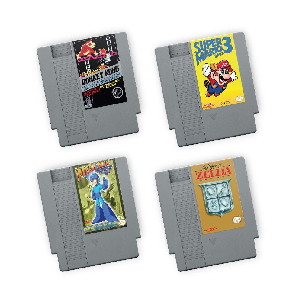 Kit Porta Copos de acrílico Fitas NES (4 Unidades)
