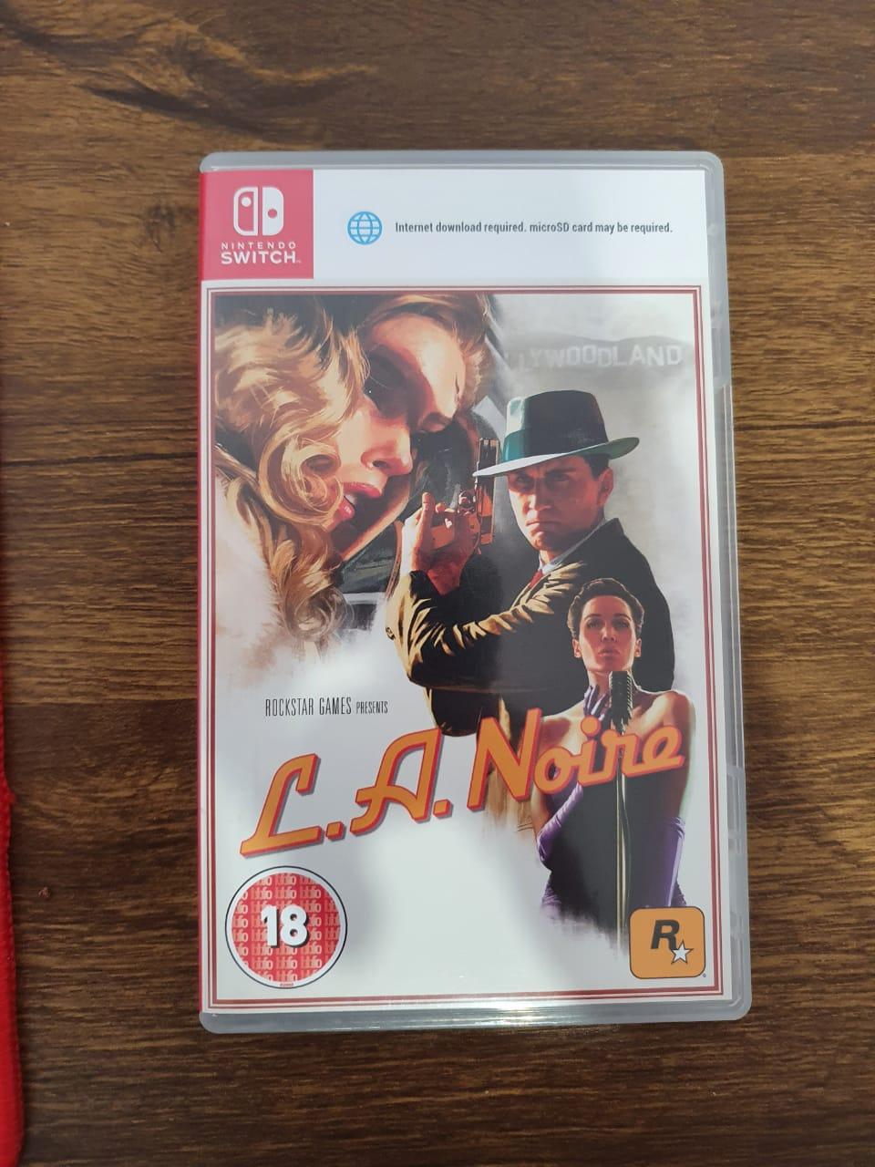 L.A. Noire - Nintendo Switch - Usado
