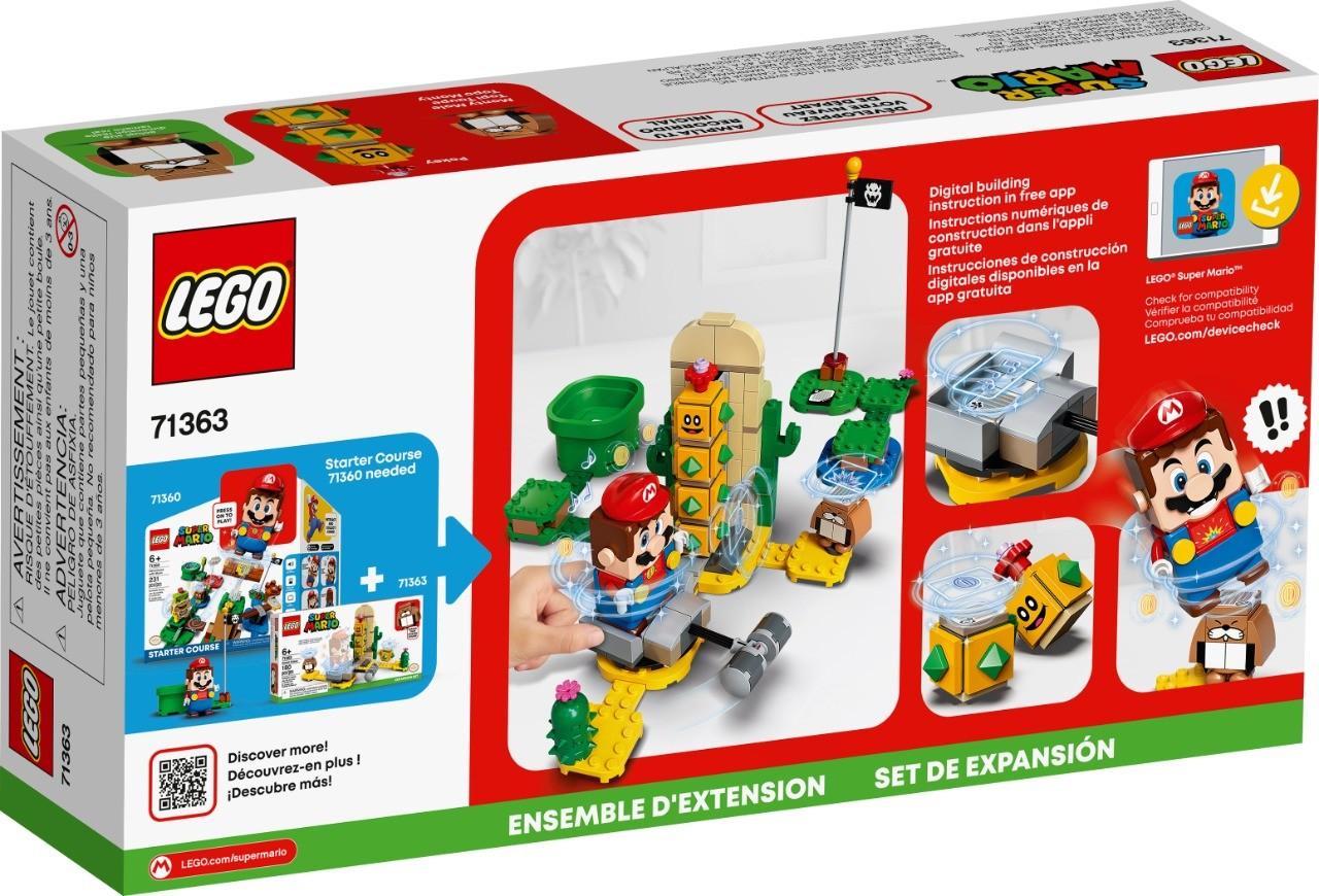 LEGO 71363 - Super Mario - Cactubola do Deserto - Pacote de Expansão