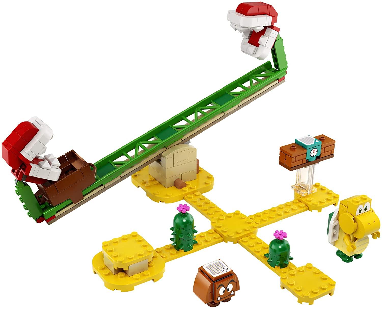 LEGO 71365 - Super Mario - Pacote de Expansão - Derrapagem da Planta Piranha