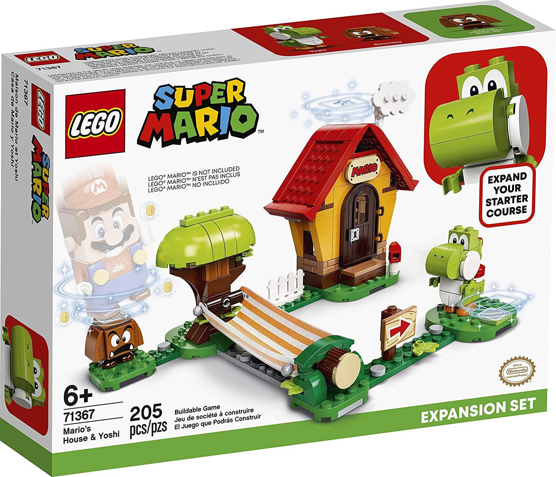 LEGO 71367 - Super Mario - Expansão - A Casa do Mario e do Yoshi