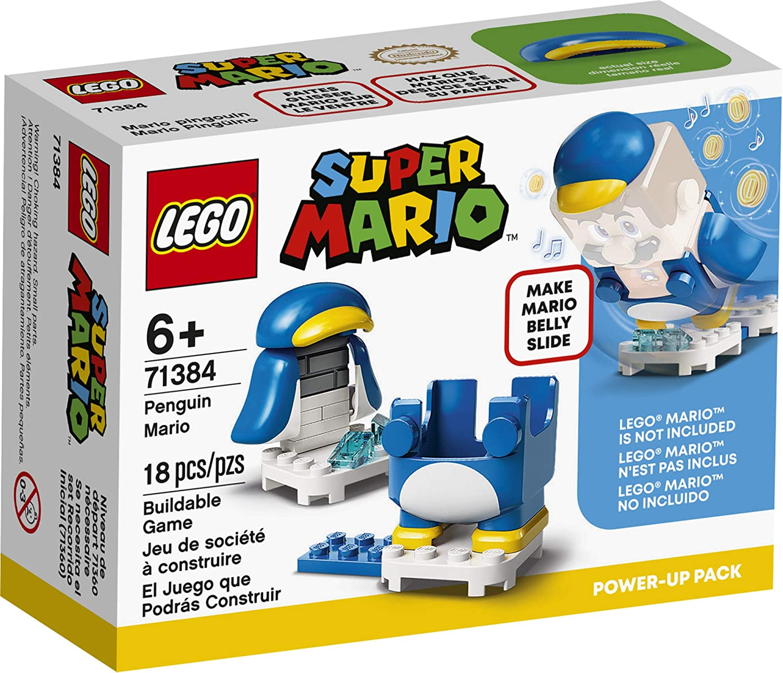 LEGO 71384 - Super Mario - Pacote PowerUp - Mario Pinguim