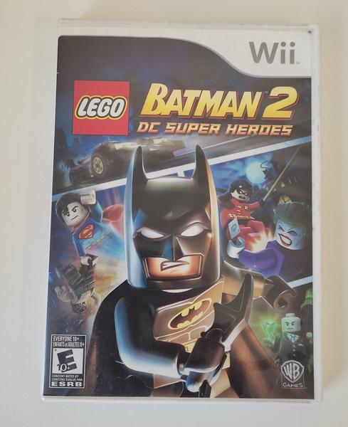 LEGO Batman 2 DC Super Heroes - Nintendo Wii - Usado