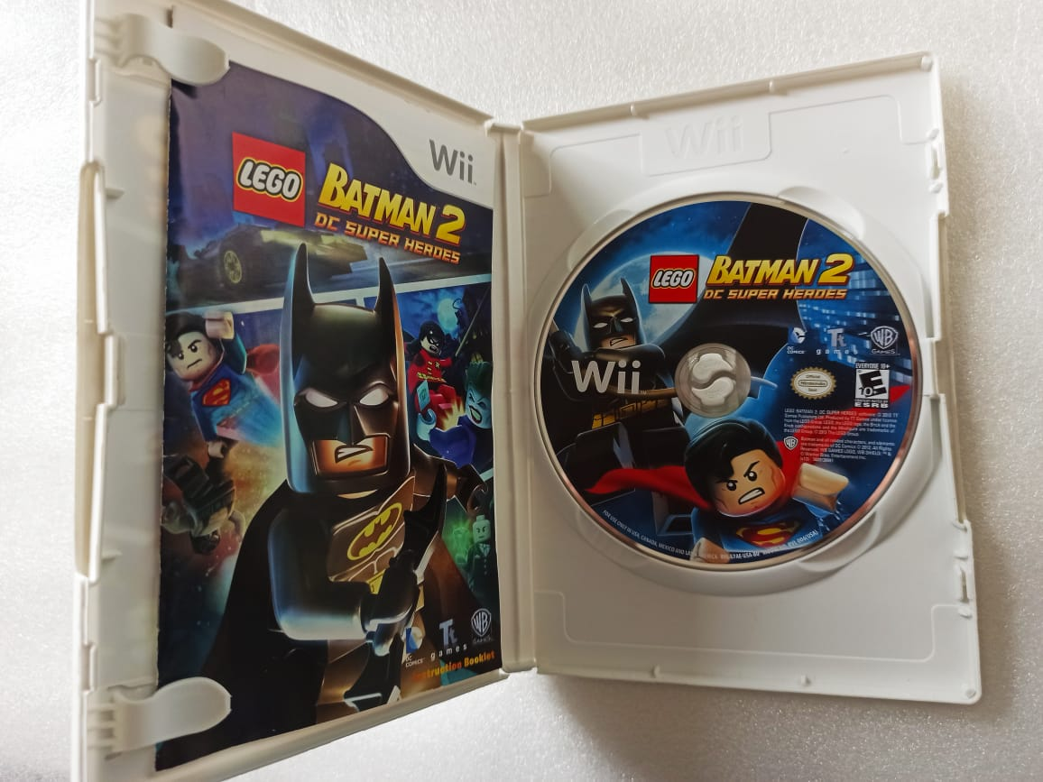 Lego: Batman 2 - USADO - Nintendo Wii