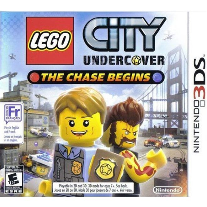 Lego City Undercover - 3Ds