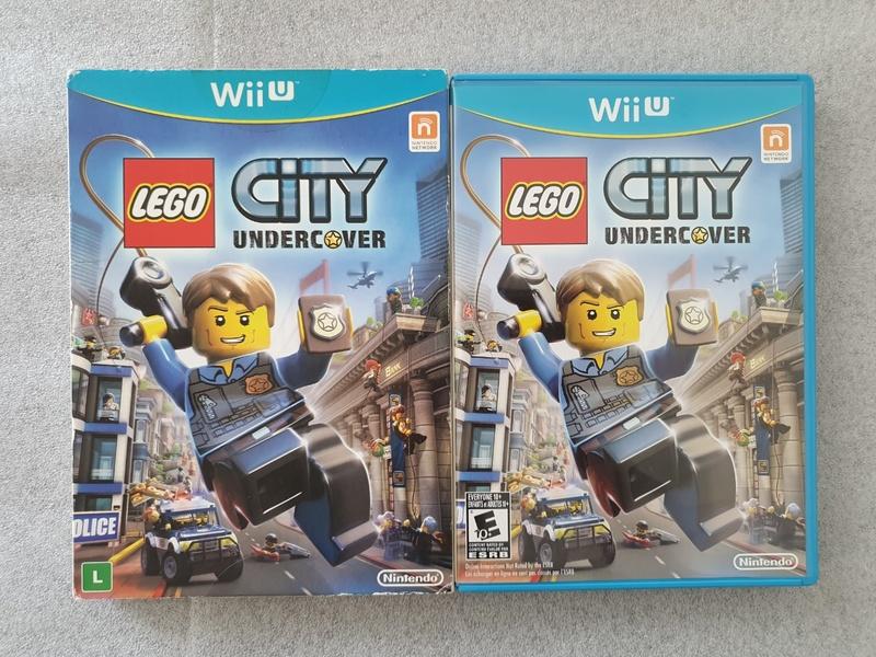 LEGO City Undercover - Nintendo Wii U - Usado