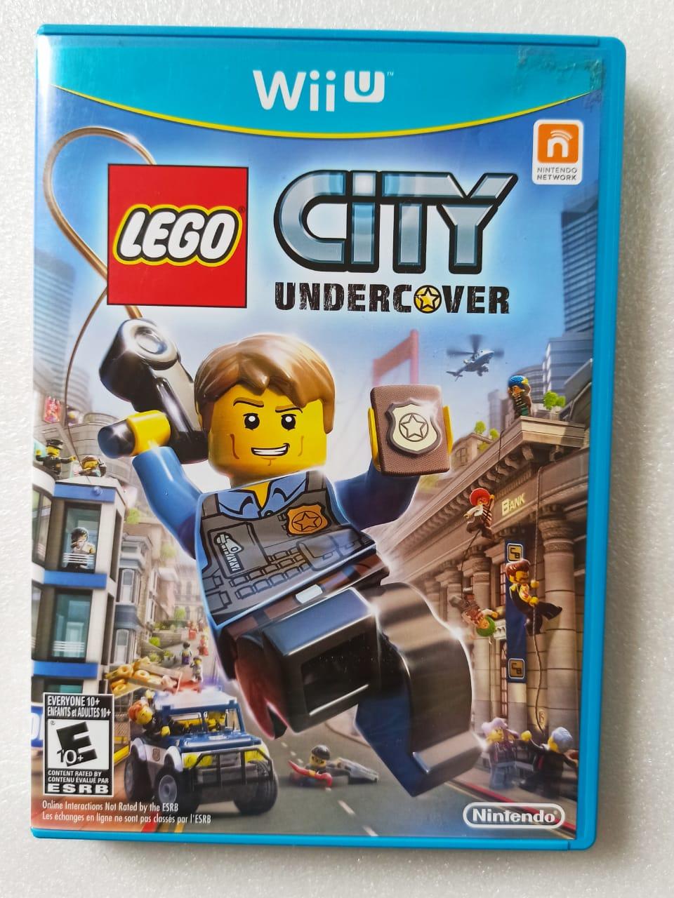 Lego City Undercover USADO - Nintendo Wii U