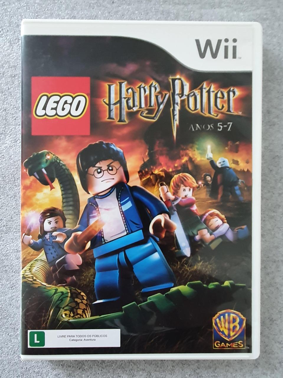 LEGO Harry Potter (5-7) - Nintendo Wii - Usado