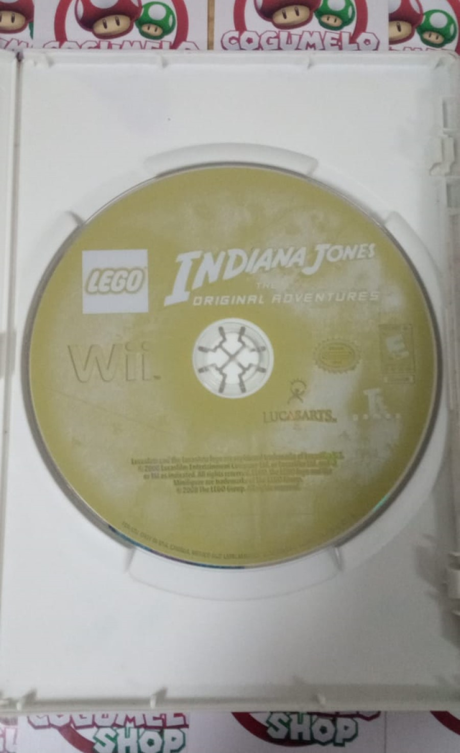 Lego Indiana Jones: The Original Adventures - USADO - Nintendo Wii