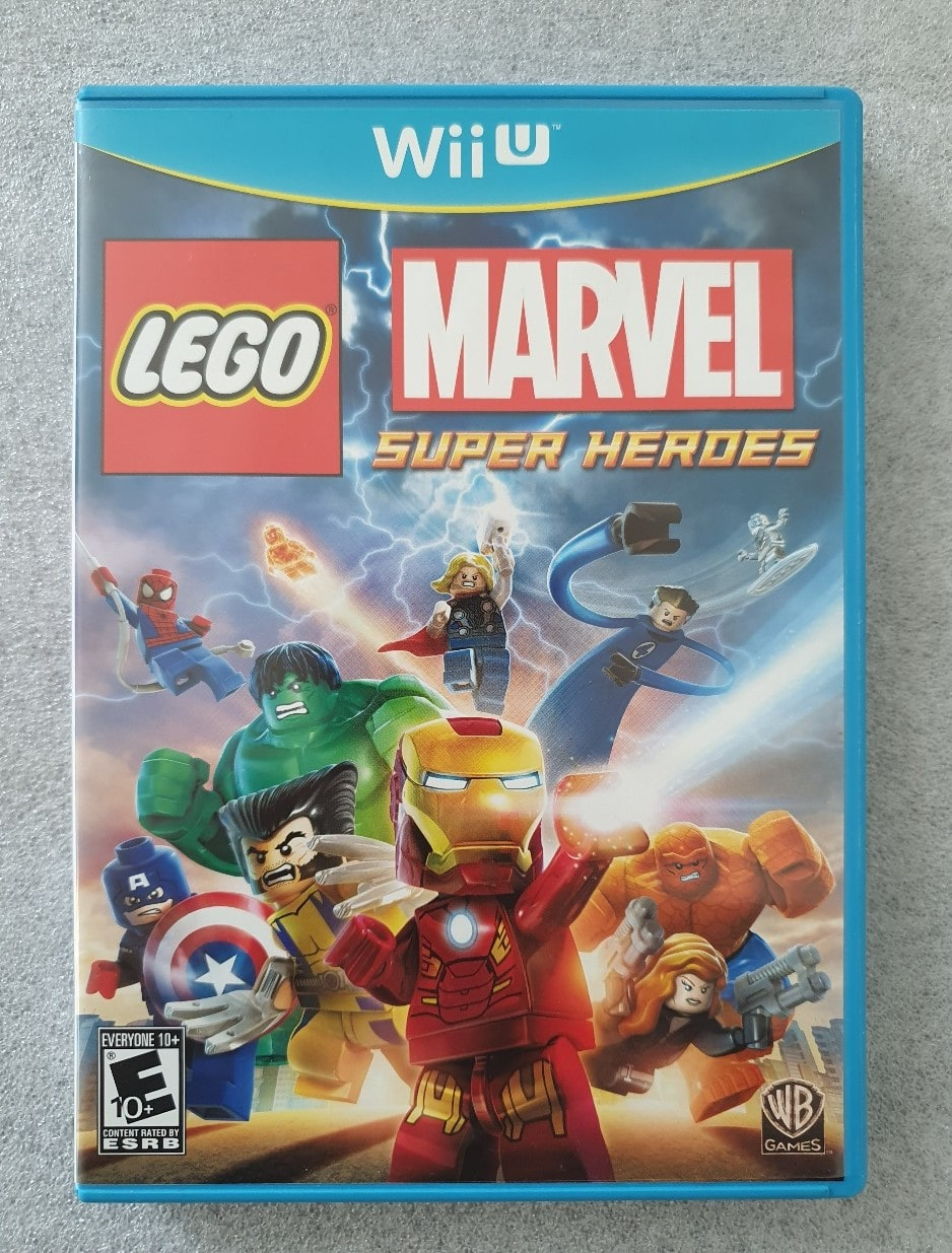 LEGO Marvel Heroes - Nintendo Wii U - Usado