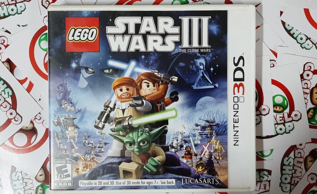 Lego Star Wars III: The Clone Wars - USADO - Nintendo 3DS