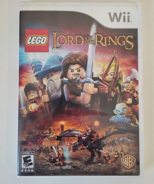 LEGO The Lord of the Rings - Nintendo Wii - Usado