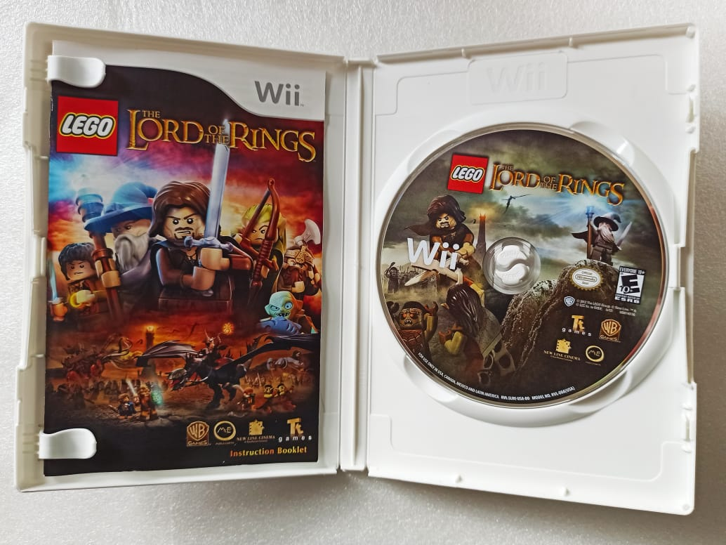 Lego: The Lord of The Rings - USADO - Nintendo Wii
