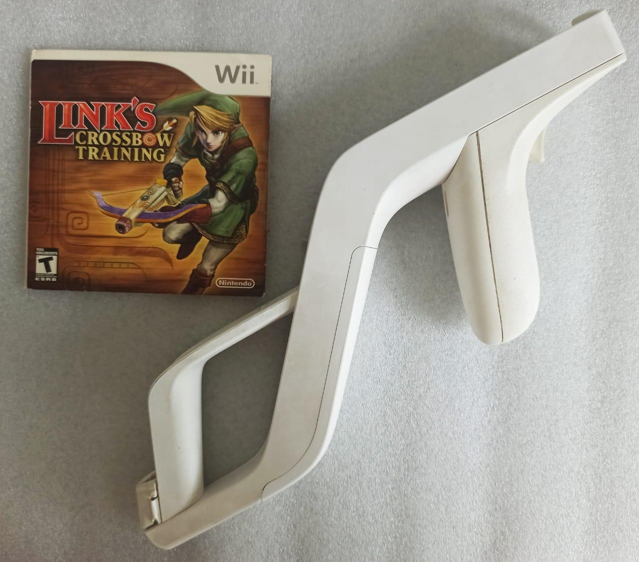 Link's Crossbow Training + Wii Zapper - USADO - Nintendo Wii