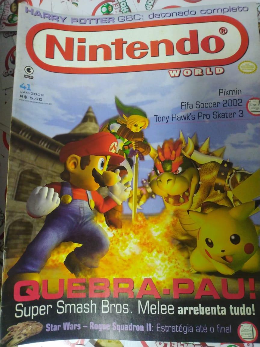 Lote de 50 Revistas - Nintendo World