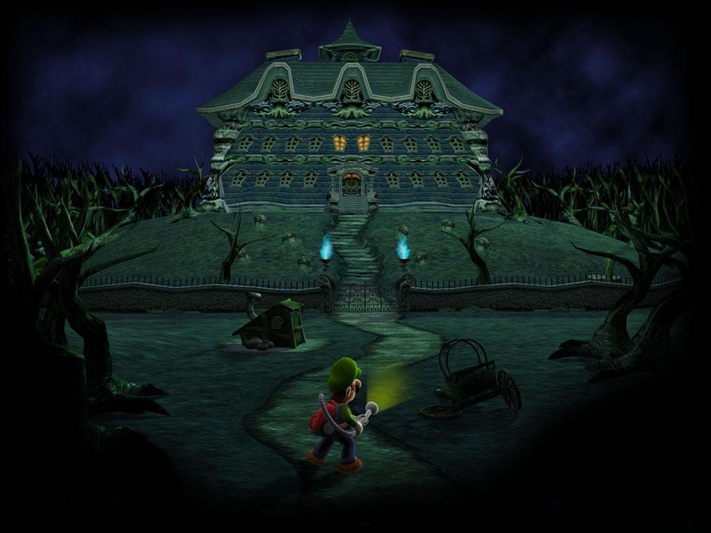 Luigi's Mansion Player's Choice - Game Cube - Usado