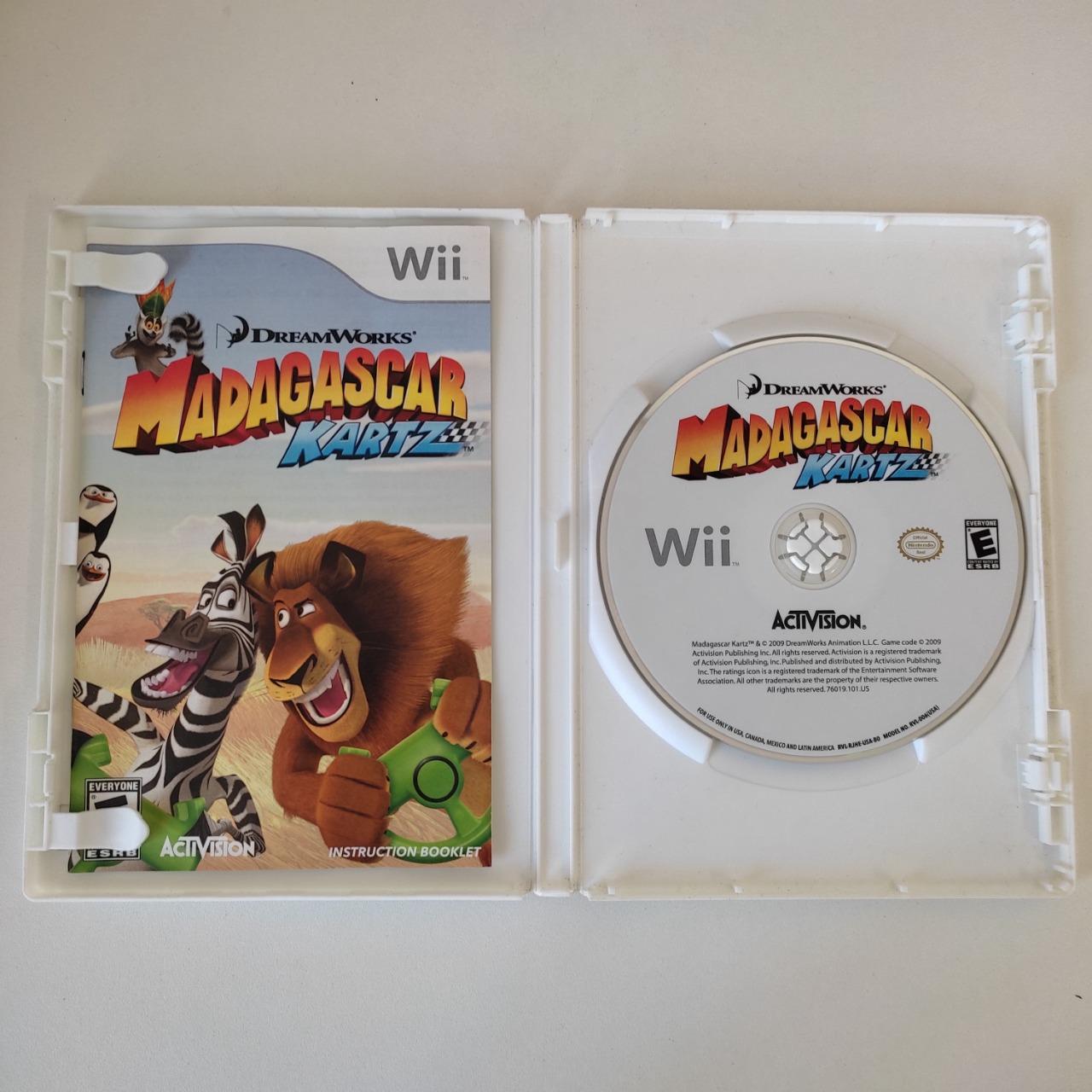Madagascar KARTZ - Nintendo Wii - Usado