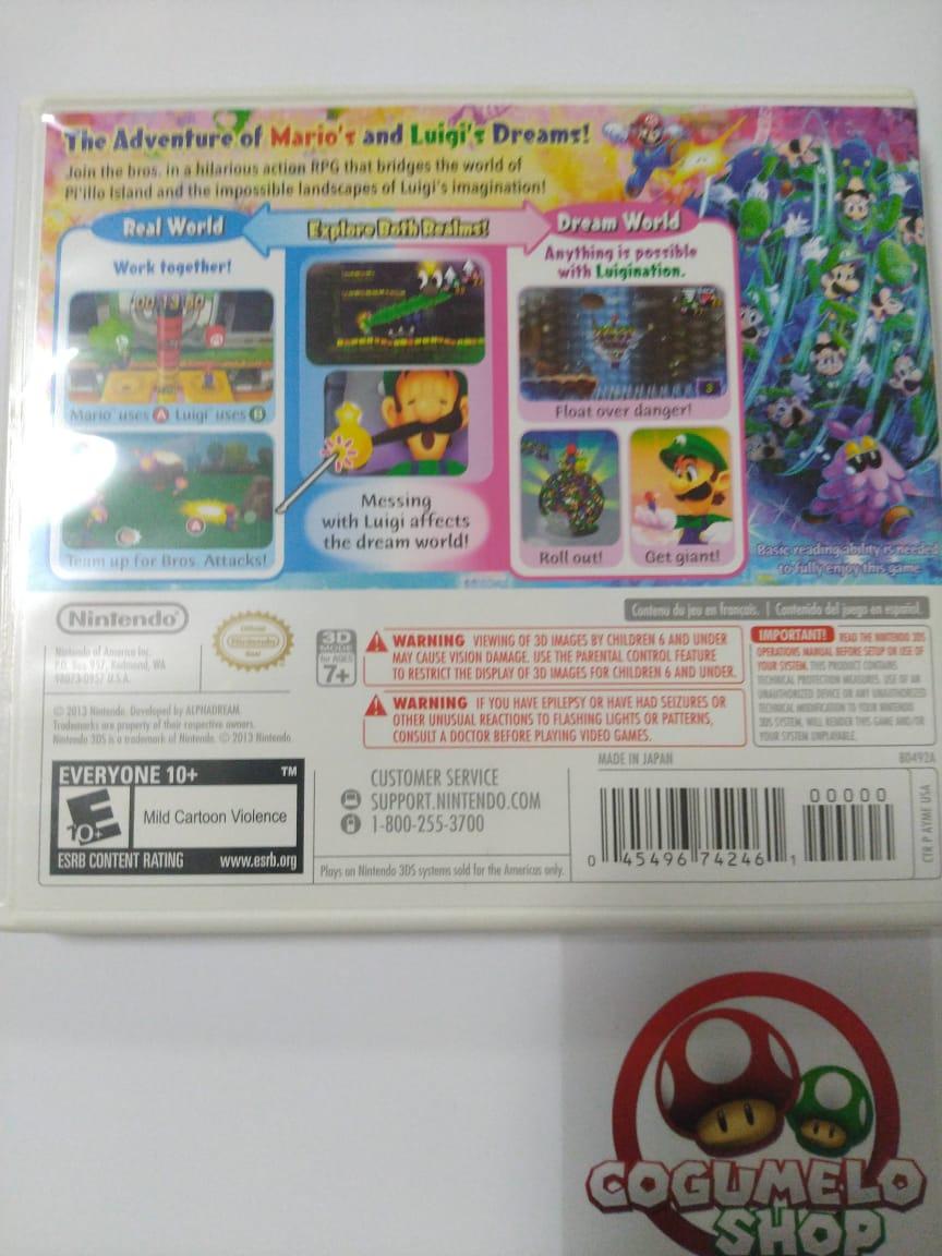 Mario & Luigi: Dream Team - USADO - Nintendo 3DS