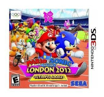 Mario & Sonic At The London 2012 Olympic Games - 3DS - USADO