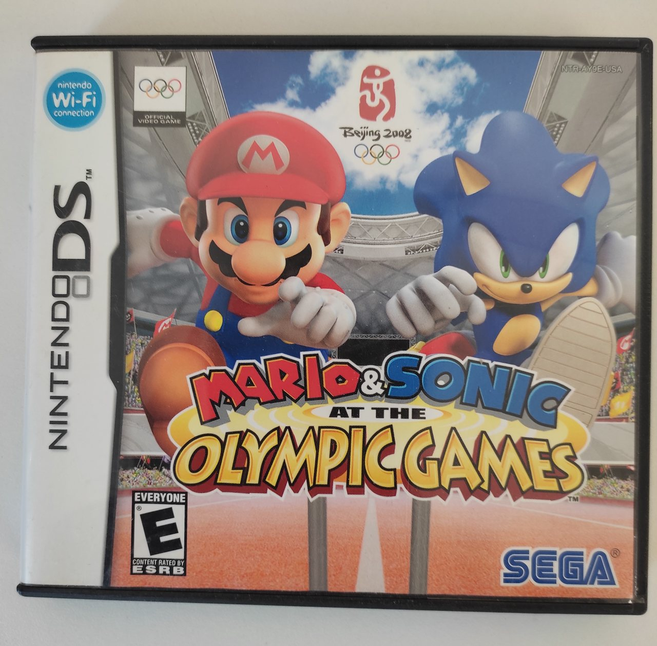 Mario & Sonic at the Olympic Games - Nintendo DS - Usado